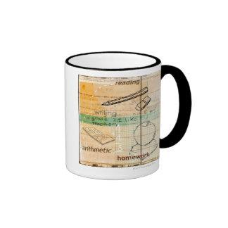 Childhood Education Montage Ringer Coffee Mug