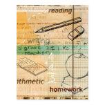 Childhood Education Montage Postcard