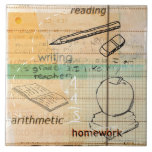 Childhood Education Montage Tile