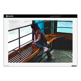 Childhood Ferry Ride Skin For Laptop
