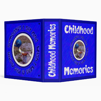 Childhood Memories Binder