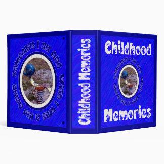 Childhood Memories Binder