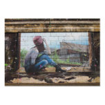 Childhood Memories Graffiti Large Business Cards (Pack Of 100)