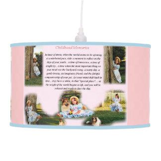 Childhood Memories Inspirational Pendant Lamps
