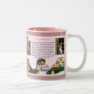 Childhood Memories Inspirational Coffee Mugs