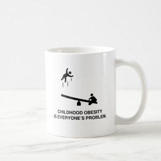Childhood Obesity Coffee Mug