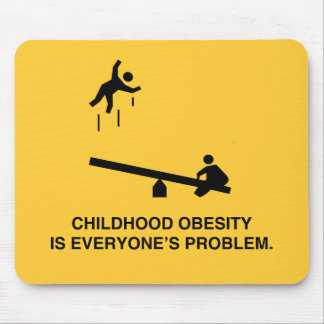 Childhood Obesity Mouse Pad