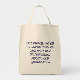 Childhood Obesity Solutions Tote Bag