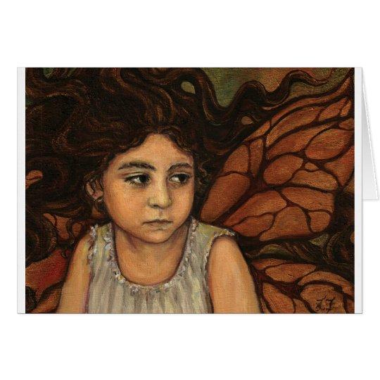 Childhood- original art by Lina Zol Card
