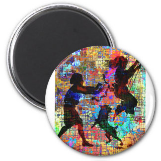 CHILDHOOD PLAY 2 INCH ROUND MAGNET