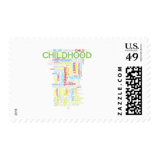 Childhood Postage Stamp