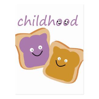 Childhood Postcard