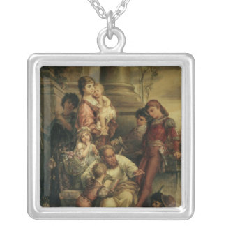 Childhood Silver Plated Necklace