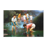 Childhood Stretched Canvas Print