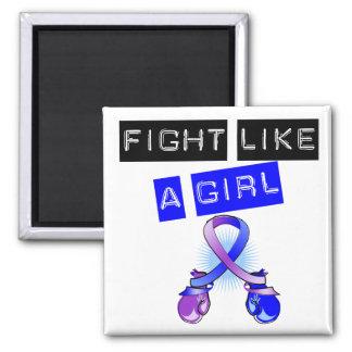 Childhood Stroke Fight Like A Girl Magnet
