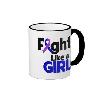 Childhood Stroke Fight Like a Girl Mug