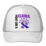 Childhood Stroke Victory Fight Like A Girl Trucker Hats
