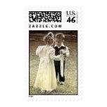 Childhood sweethearts Wedding Invitation Stamps
