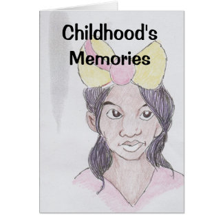 Childhood's Memories Card