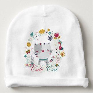 Childish beret Cute Cat Baby Beanie