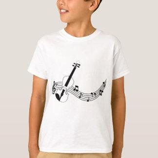 Childish t-shirt Hanes TAGLESS® Design Violin