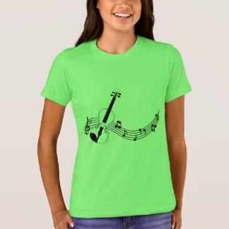 Childish t-shirt of the Bella+Canvas, Neon Violin