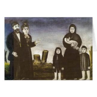 Childless millionaire by Niko Pirosmani Card