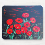 Childlike Poppies Mouse Pads