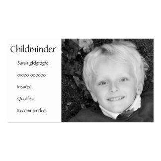 Childminder/Nanny/Babysitter Business Card