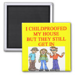 CHILDproofed Refrigerator Magnets