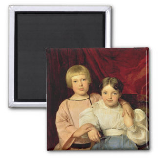 Children, 1834 2 inch square magnet