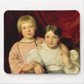 Children, 1834 mouse pad