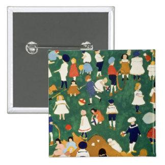 Children, 1908 pin cuadrada 5 cm