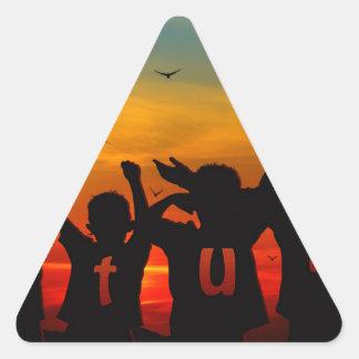 children-214437.jpg triangle sticker