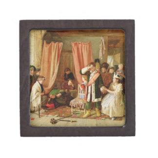 Children acting the 'Play Scene', Act II, Scene ii Premium Gift Box