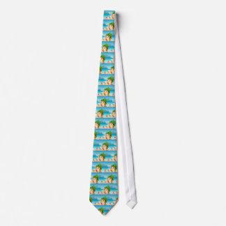 Children and beach tie