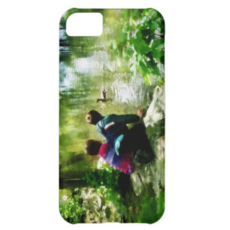 Children and Ducks in Park iPhone 5C Cover