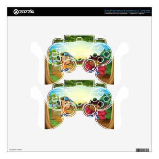 Children and forest PS3 controller decal
