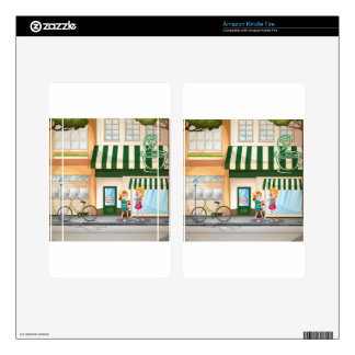 Children and shops skins for kindle fire