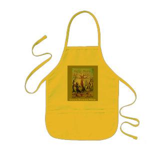 Children apron, tomcat Bruno,
