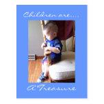 Children are...., A Treasure Post Card