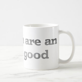 Children are an inferior good classic white coffee mug