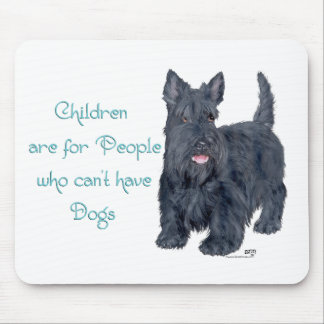 Children are for Scottie Witticism Mouse Pad