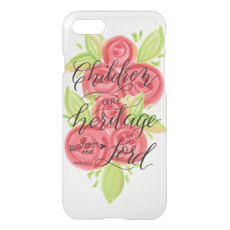 Children are Heritage from the Lord iPhone 8/7 Case