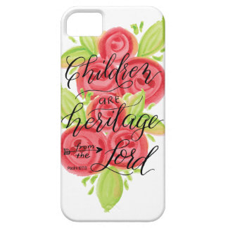 Children are Heritage from the Lord iPhone SE/5/5s Case