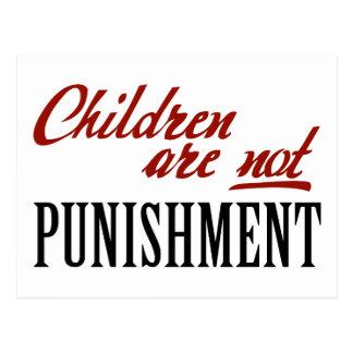 Children Are Not Punishment Postcard