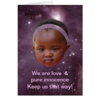 Children are pure love card