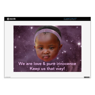 """Children are pure love decal for 15"""" laptop"""