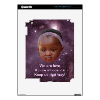 Children are pure love iPad 2 decals