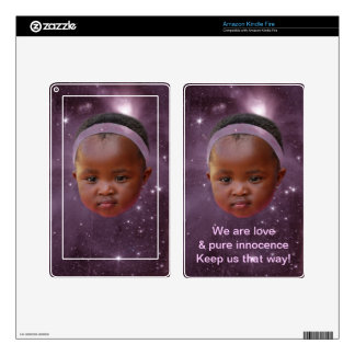 Children are pure love kindle fire decals